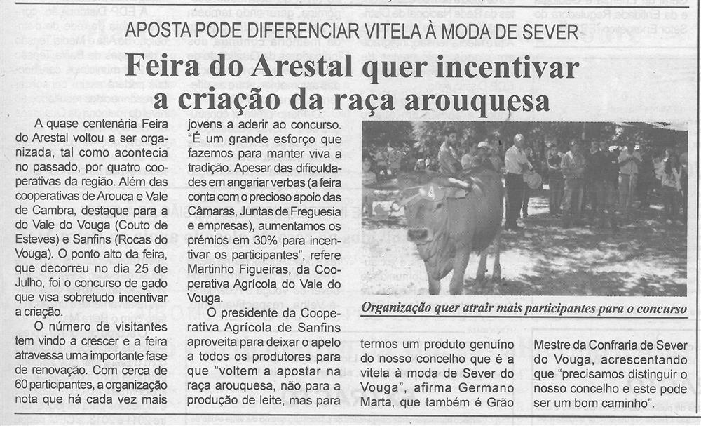 BV-1.ªago.'15-p.5-Feira do Arestal quer incentivar a criação da raça arouquesa : aposta pode diferenciar vitela à moda de Sever.jpg