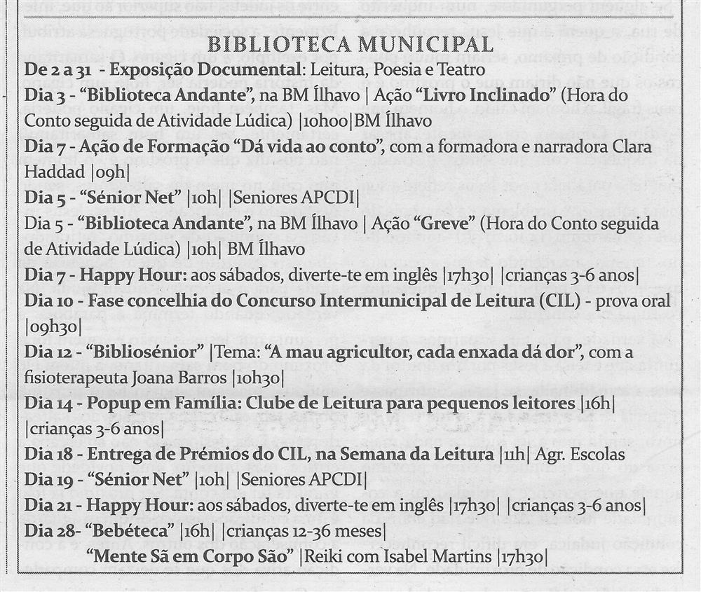 TV-mar.'15-p.14-Cultura : março : Biblioteca Municipal.jpg