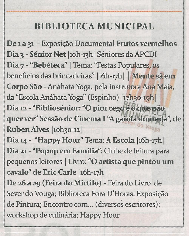 TV-jun.'14-p.19-Cultura : junho : Biblioteca Municipal.jpg