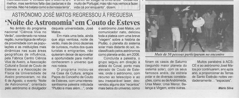 BV-1.ªset.'15-p.2-Noite de Astronomia em Couto de Esteves : astrónomo José Matos regressou à freguesia.jpg