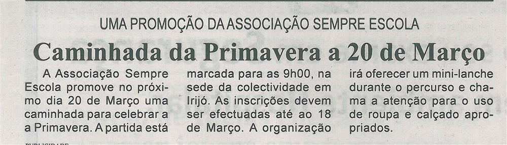 BV-2.ªMar.'16-p.7-Caminhada da Primavera a 20 de março : uma promoção da Associação Sempre Escola.jpg