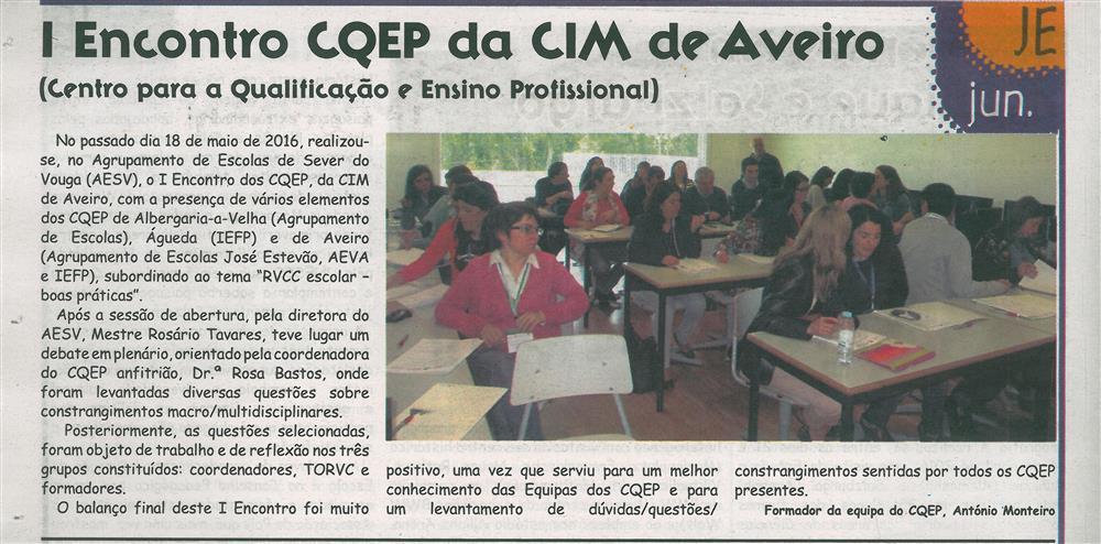 JE-jun.'16-p.4-I Encontro CQEP da CIM de Aveiro : Centro para a Qualificação e Ensino Profissional.jpg