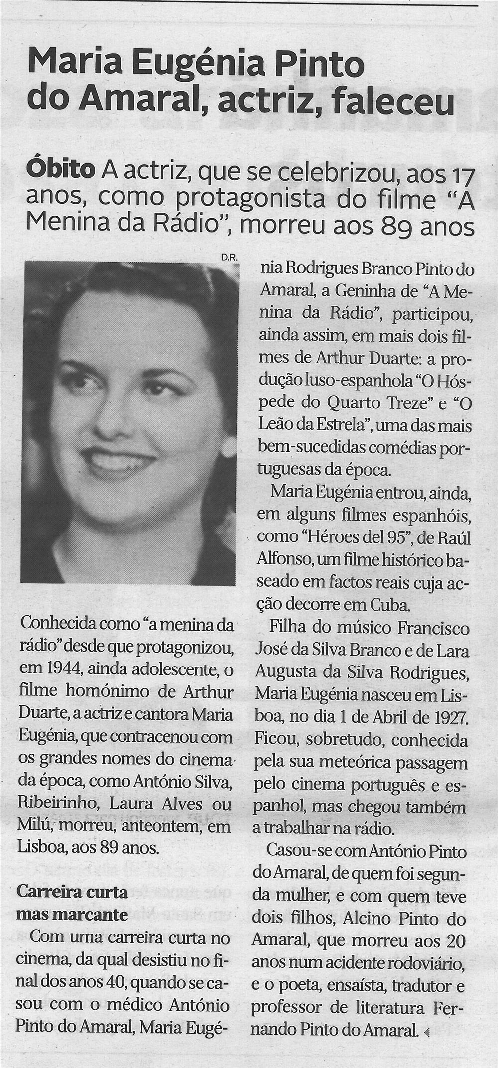 DA-27ago.'16-p.8-Maria Eugénia Pinto do Amaral, actriz, faleceu.jpg