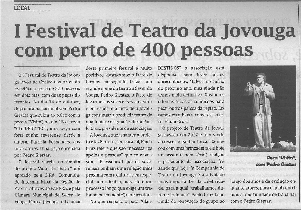 TV-nov.'16-p.7-I Festival de Teatro da Jovouga com perto de 400 pessoas.jpg