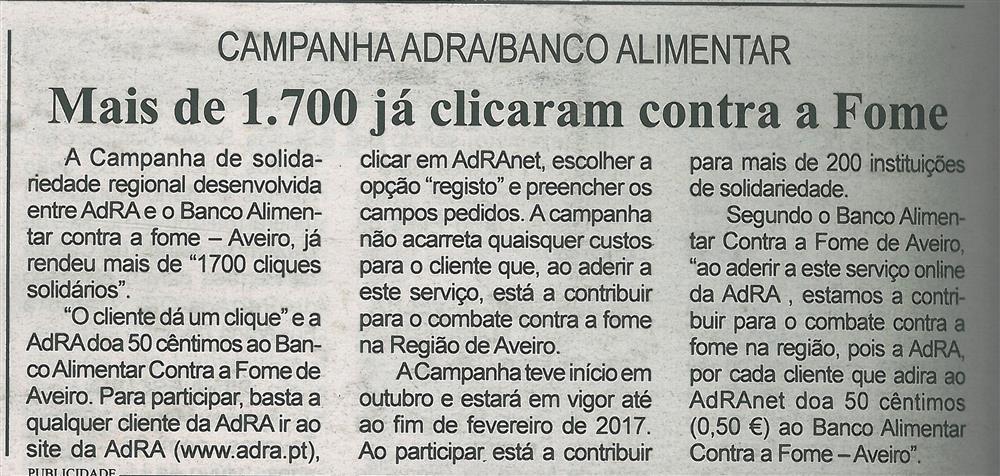 BV-2.ªdez.'16-p.20-Mais de 1700 já clicaram contra a fome : Campanha AdRA Banco Alimentar.jpg