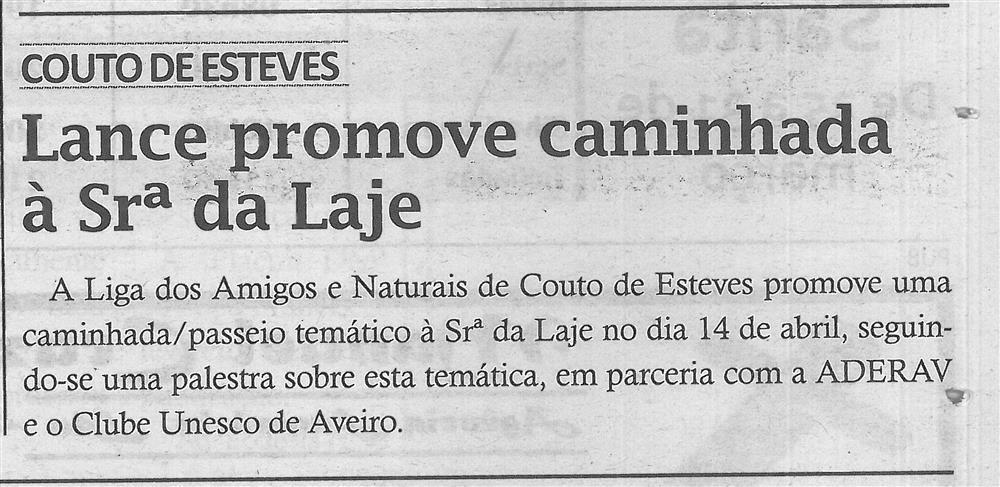 TV-mar.'18-p.9-LANCE promove caminhada à Sra. da Laje.jpg