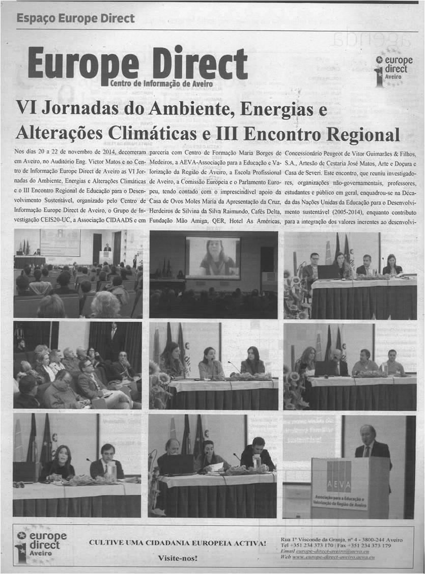 DA-09dez.'14-p.20-VI Jornadas do Ambiente, Energias e Alterações Climáticas e III Encontro Regional de Educação para o Desenvolvimento Sustentável [1.ª de duas partes] - Europe Direct - Centro de Informação de Aveiro.jpg