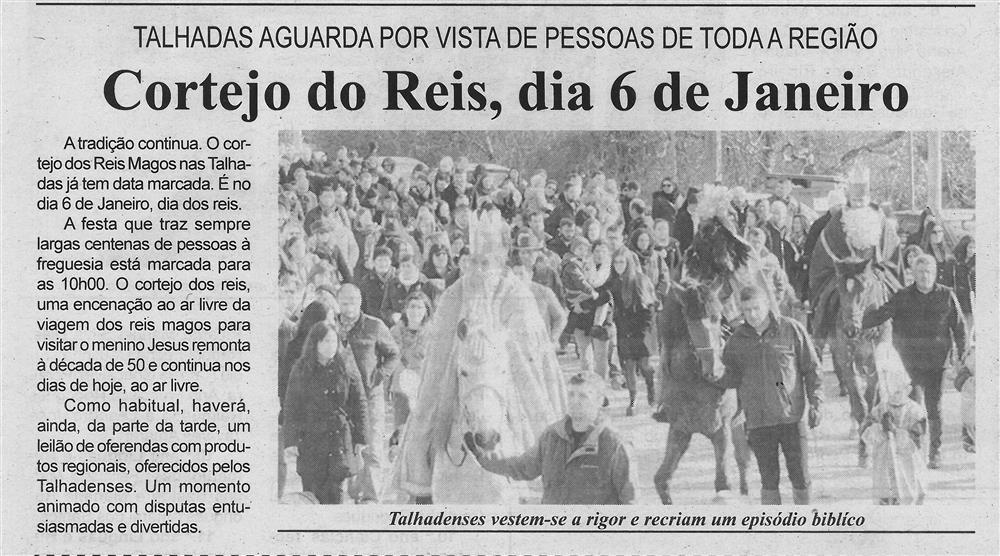 BV-2.ªdez.'18-p.3-Cortejo dos Reis, dia 6 de janeiro : Talhadas aguarda por visita de pessoas de toda a região.jpg