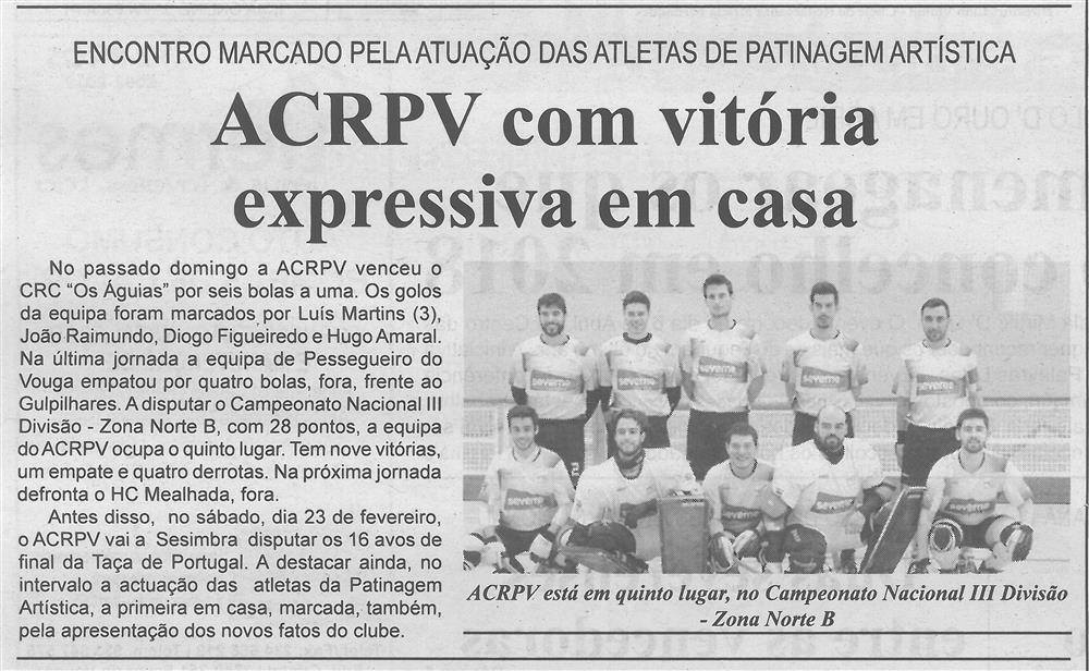 ACRPV com vitória expressiva em casa.jpg