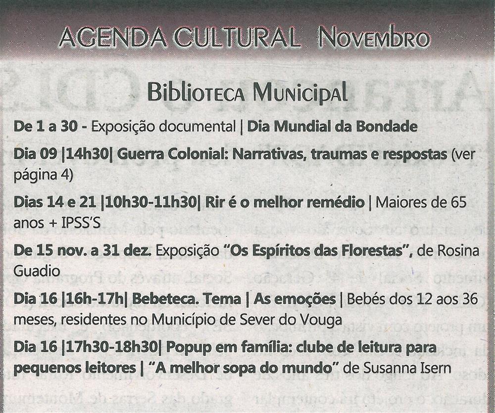 TV-nov.'19-p.19-Agenda Cultural [de] Novembro : Biblioteca Municipal.jpg
