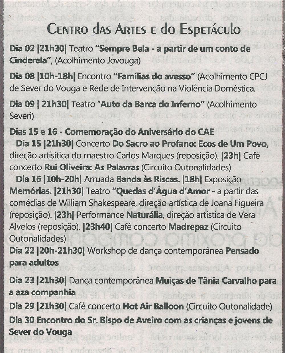 TV-nov.'19-p.19-Agenda Cultural [de] Novembro : Centro das Artes e do Espetáculo.jpg