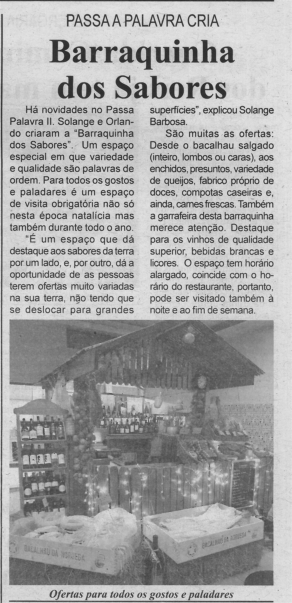BV-2.ªdez.'19-p.11-Passa a Palavra cria 'Barraquinha dos Sabores'.jpg