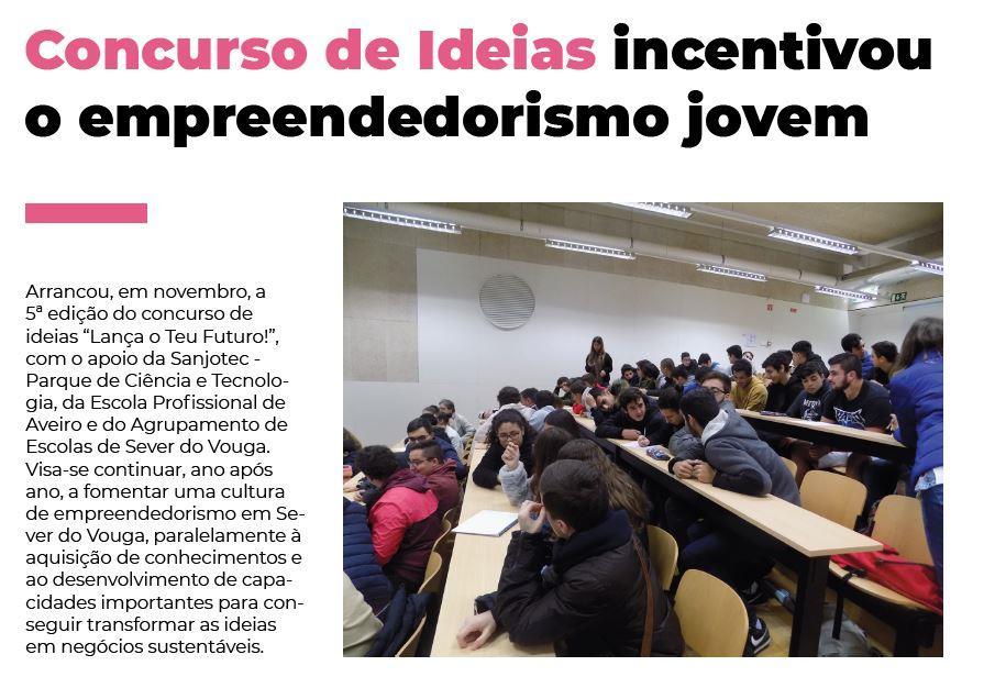 BoletimInfoSV-2.ºsem'19.-p.17-Concurso de Ideias incentivou o empreendedorismo jovem.JPG