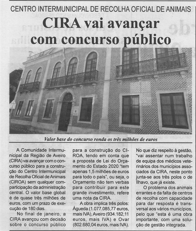 BV-1.ªfev.'20-p.7-Centro Intermunicipal de Recolha Oficial de Animais : CIRA vai avançar com concurso público.jpg