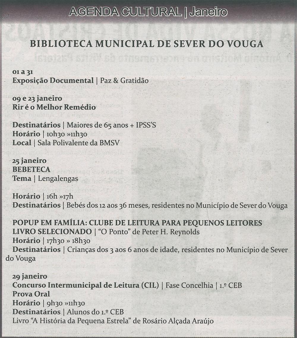 TV-jan.'20-p.19-Agenda Cultural [de] janeiro : Biblioteca Municipal de Sever do Vouga.jpg