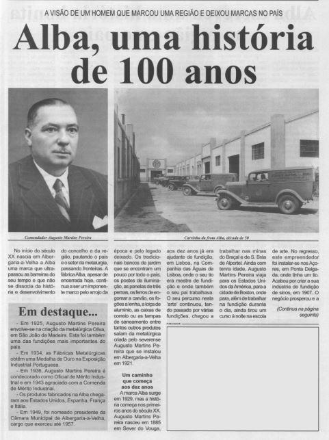 BV-1.ªmar.'21-p.9-Alba, uma história de 100 anos : a visão de um homem que marcou uma região e deixou marcas no país.JPG