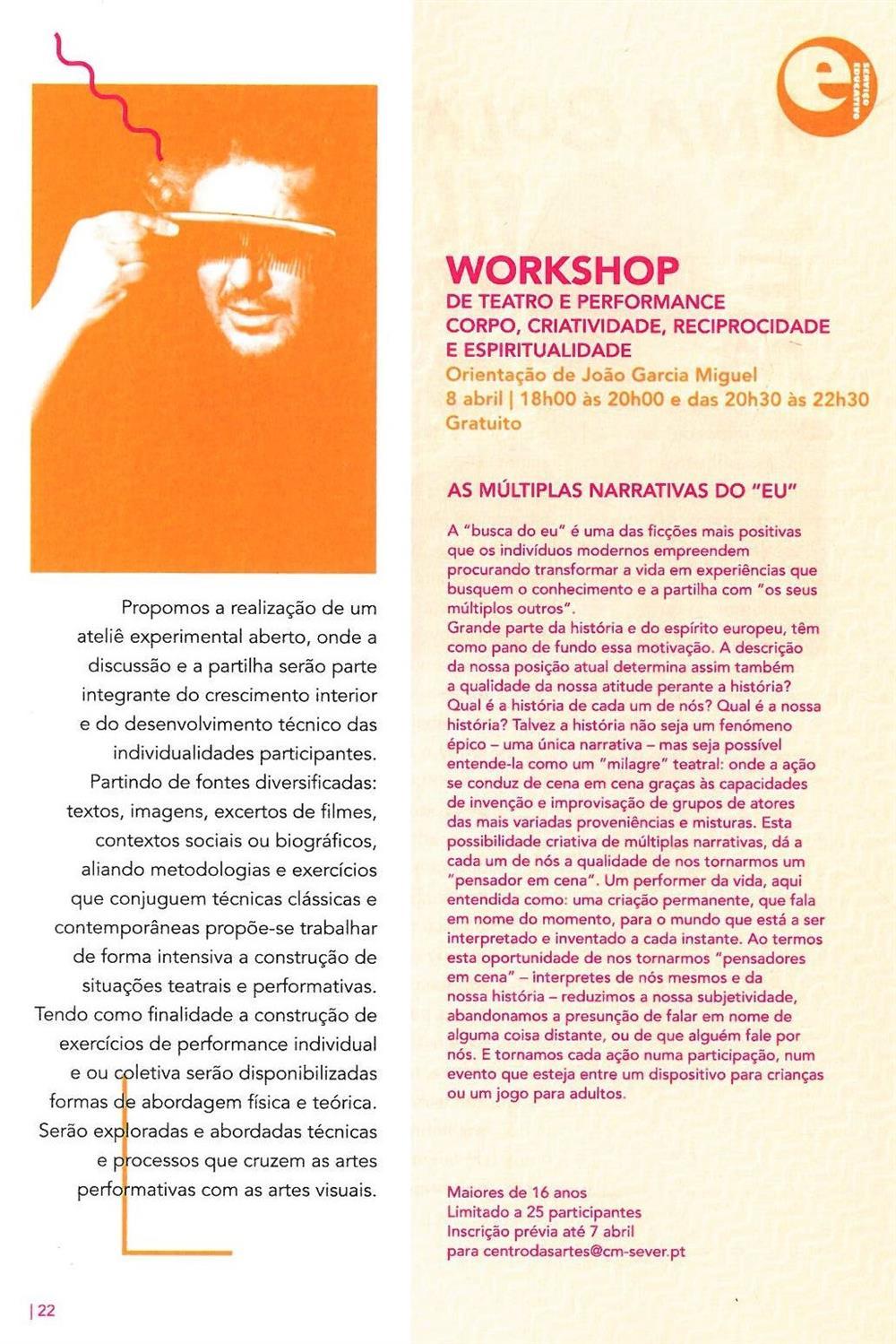 ACMSV-abr.,maio,jun.,jul.'16-p.22-Workshop de teatro e performance : corpo, criatividade, reciprocidade e espiritualidade : as múltiplas narrativas do eu.jpg