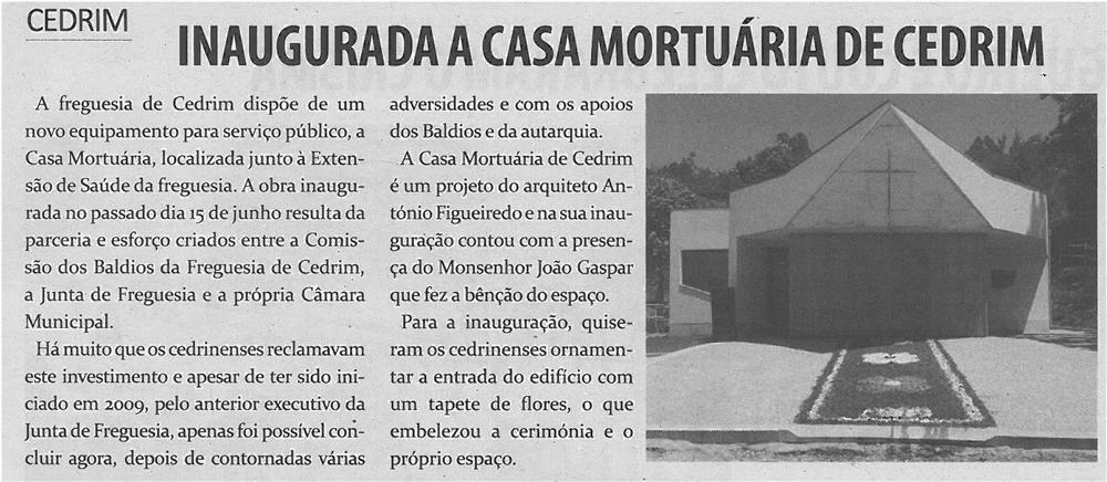 TV-jul13-p12-Inaugurada a Casa Mortuária de Cedrim