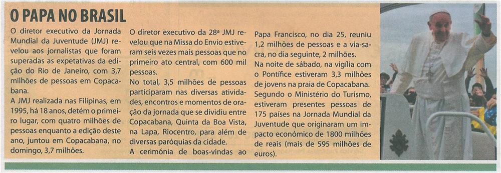 TV-ago13-p1-O Papa no Brasil