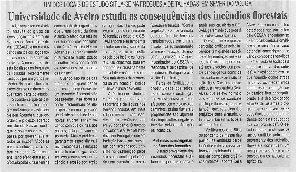 BV-2ªset'13-p7-Universidade de Aveiro estuda as consequências dos incêndios florestais
