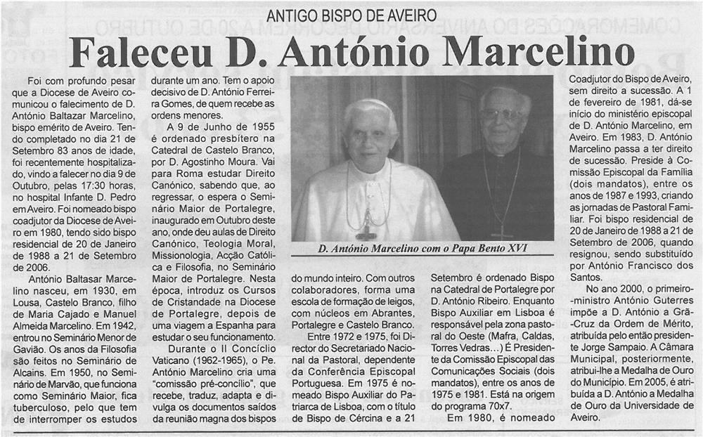 BV-2ªout'13-p2-Faleceu D. António Marcelino