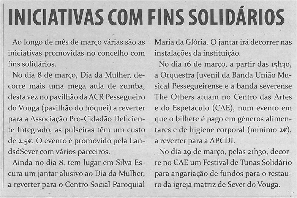 TV-mar14-p7-Iniciativas com fins solidários