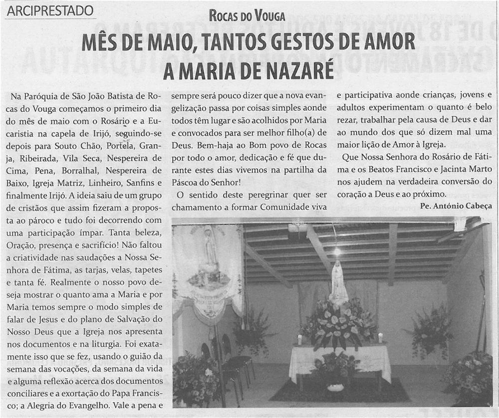 TV-jun14-p14-Mês de maio : tantos gestos de amor a Maria de Nazaré - JPG
