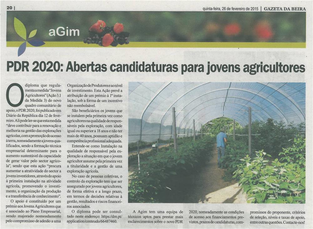 GB-26fev.'15-p.20-PDR 2020 : abertas candidaturas para jovens agricultores.jpg