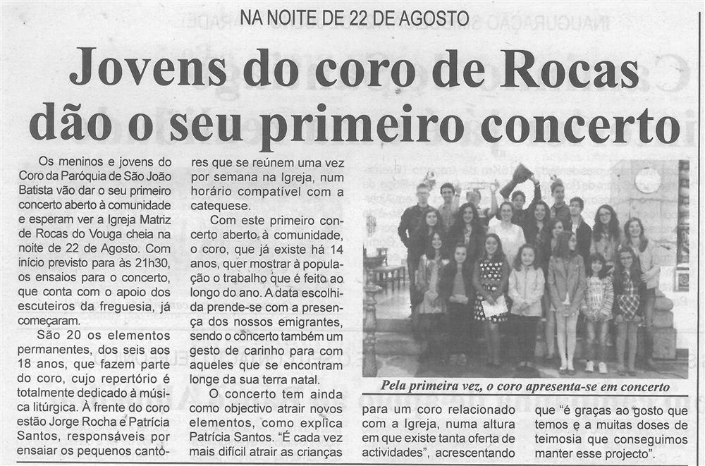 BV-1.ªago.'15-p.5-Jovens do Coro de Rocas dão o seu primeiro concerto : na noite de 22 de agosto.jpg