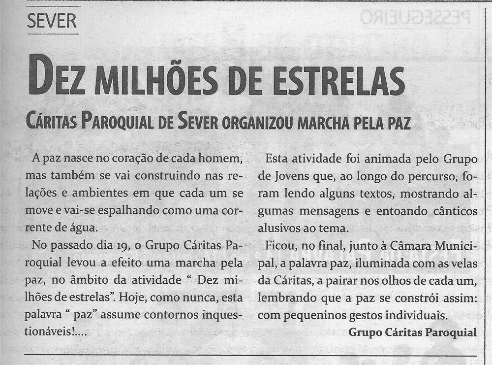 TV-jan.'16-p.11-Dez milhões de estrelas : Cáritas Paroquial de Sever organizou marcha pela paz.jpg