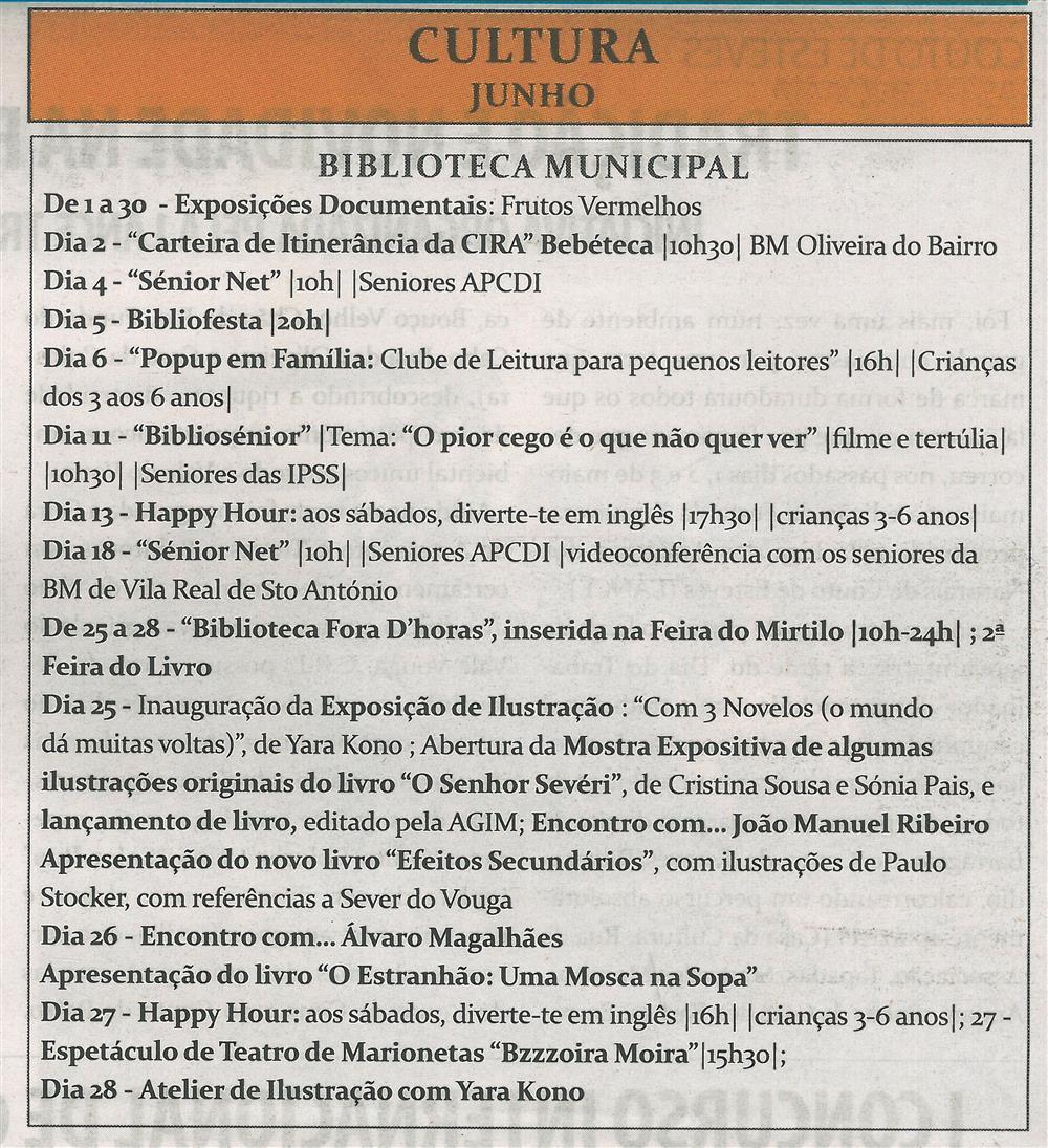 TV-jun.'15-p.14 - Cultura : Biblioteca Municipal : junho.jpg