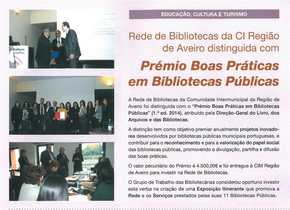 BoletimMunicipal-n.º32-nov.'15-p.21-Rede de Bibliotecas da CI Região de Aveiro distinguida com Prémio Boas Práticas em Bibliotecas Públicas.jpg