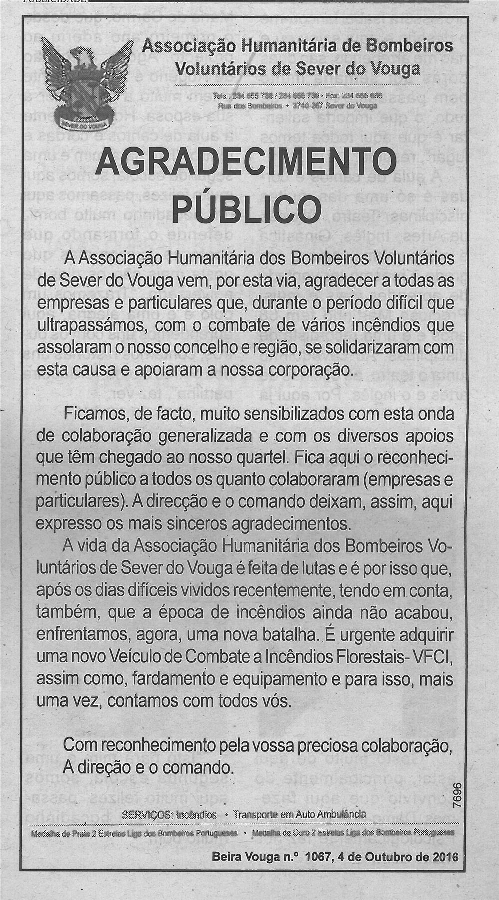 BV-1.ªout.'16-p.5-Agradecimento público : Associação Humanitária de Bombeiros Voluntários de Sever do Vouga.jpg