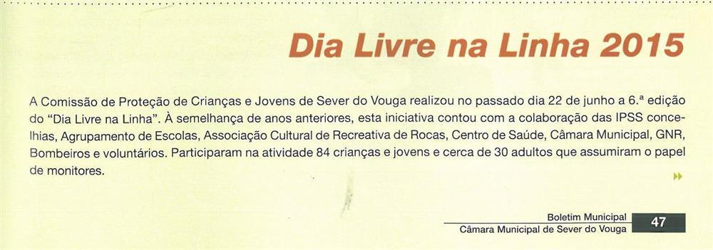 BoletimMunicipal-n.º32-nov.'15-p.47-Dia Livre na Linha 2015.jpg