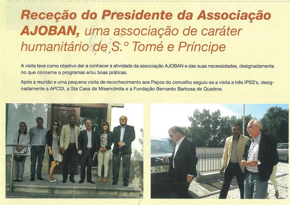 BoletimMunicipal-n.º32-nov.'15-p.50-Receção do Presidente da Associação AJOBAN : uma Associação de caráter humanitário de S. Tomé e Príncipe.jpg