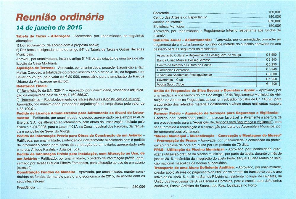 BoletimMunicipal-n.º32-nov.'15-p.61-Reunião ordinária [de] 14 de janeiro de 2015 : deliberações.jpg
