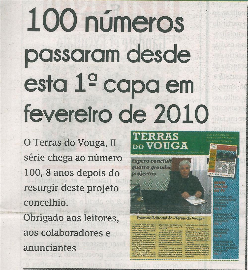 TV-maio'18-p.1-100 números passaram desde esta 1.ª capa em fevereiro de 2010.jpg