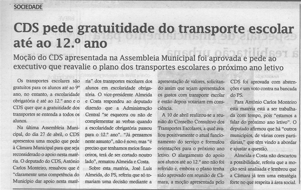 TV-maio'18-p.5-CDS pede gratuitidade do transporte escolar até ao 12.º ano.jpg