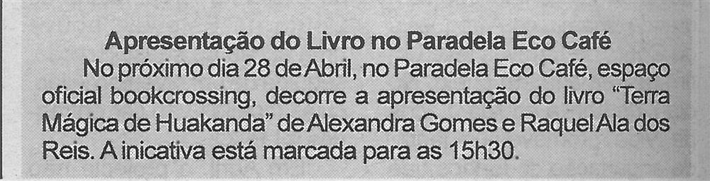 BV-2.ªabr.'18-p.6-Apresentação do livro no Paradela Eco Café.jpg
