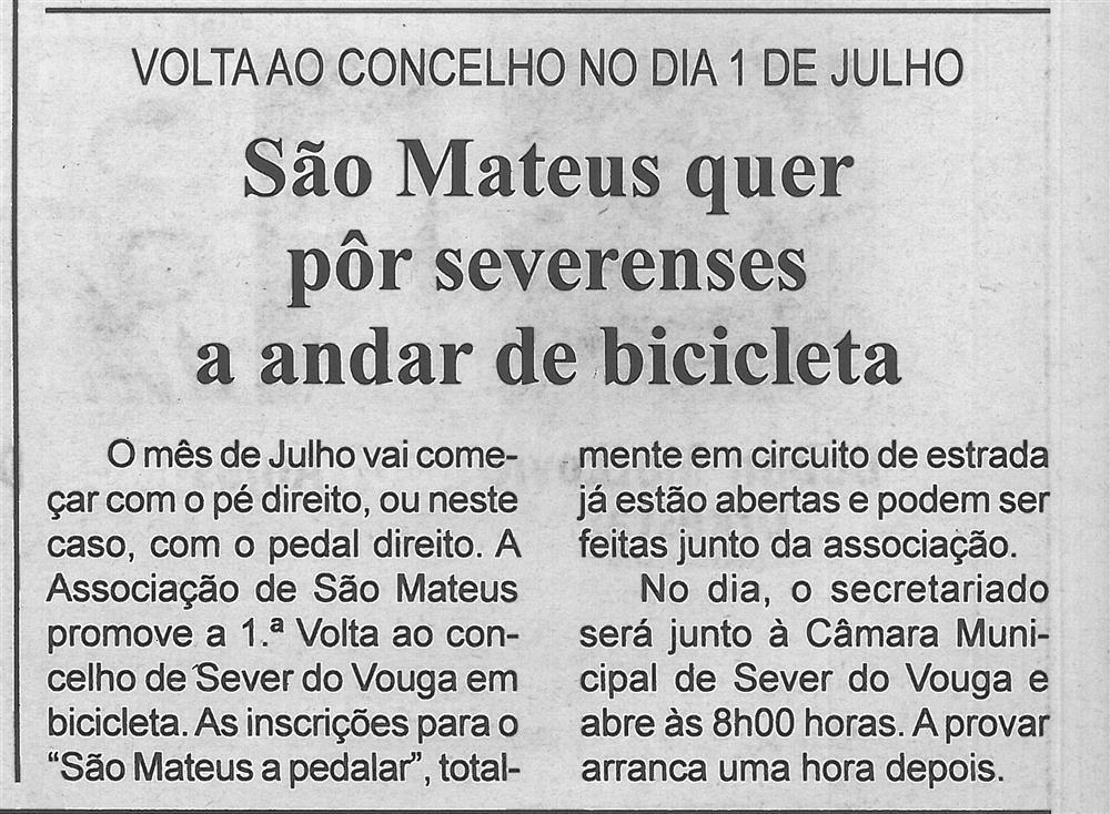 BV-2.ªjun.'18-p.10-São Mateus quer pôr severenses a andar de bicicleta : volta ao concelho no dia 1 de julho.jpg
