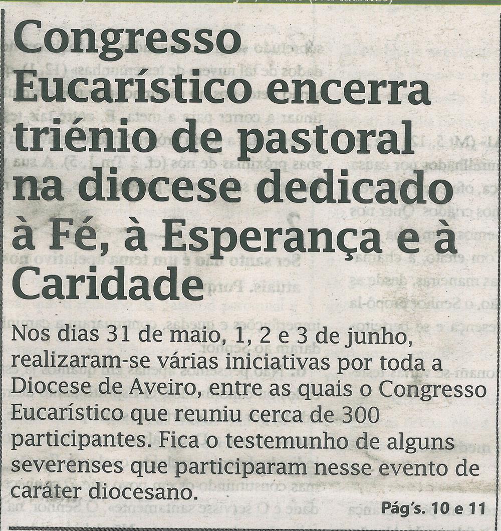 TV-jul'18-p.1-Congresso Eucarístico encerra triénio de pastoral na diocese dedicado à fé, à esperança e à caridade.jpg
