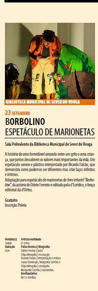 AgendaRBM-set.-dez.'17-p.3-Biblioteca Municipal de Sever do Vouga : Borbolino : espetáculo de marionetas.JPG