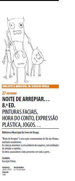 AgendaRBM-set.-dez.'17-p.5-Biblioteca Municipal de Sever do Vouga : Noite de Arrepiar 8.ª ed.JPG