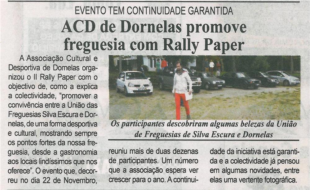 BV-1.ªdez.'14-p.9-ACD de Dornelas promove freguesia com rally paper.jpg