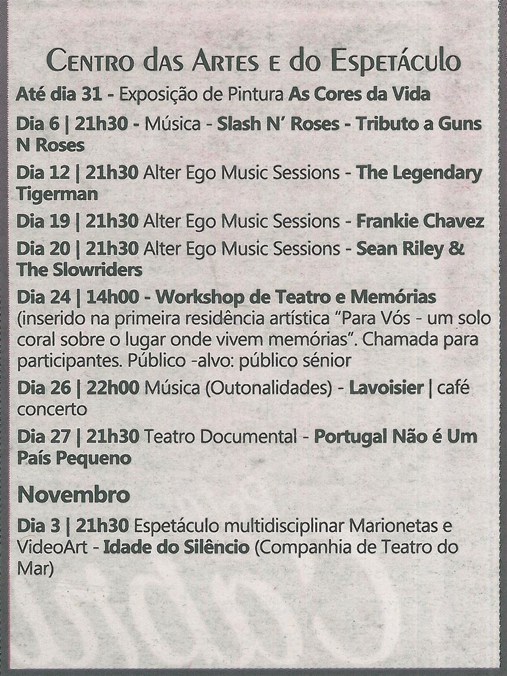 TV-out.'18-p.19-Agenda Cultural [de] outubro : Centro das Artes e do Espetáculo.jpg