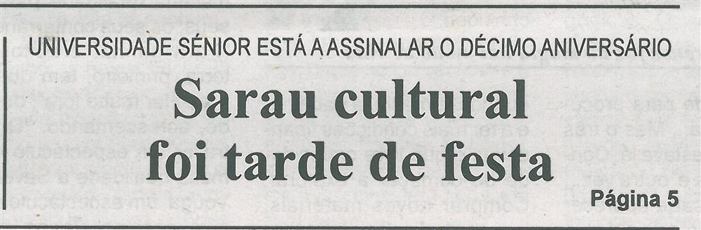 Sarau cultural foi tarde de festa.jpg