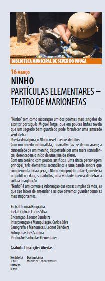 AgendaRBM-jan.-mar.'19-p.11-Biblioteca Municipal de Sever do Vouga : Ninho : partículas elementares : teatro de marionetas.JPG