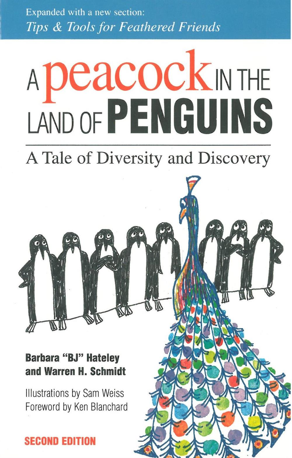 A peacock in the penguins.jpg