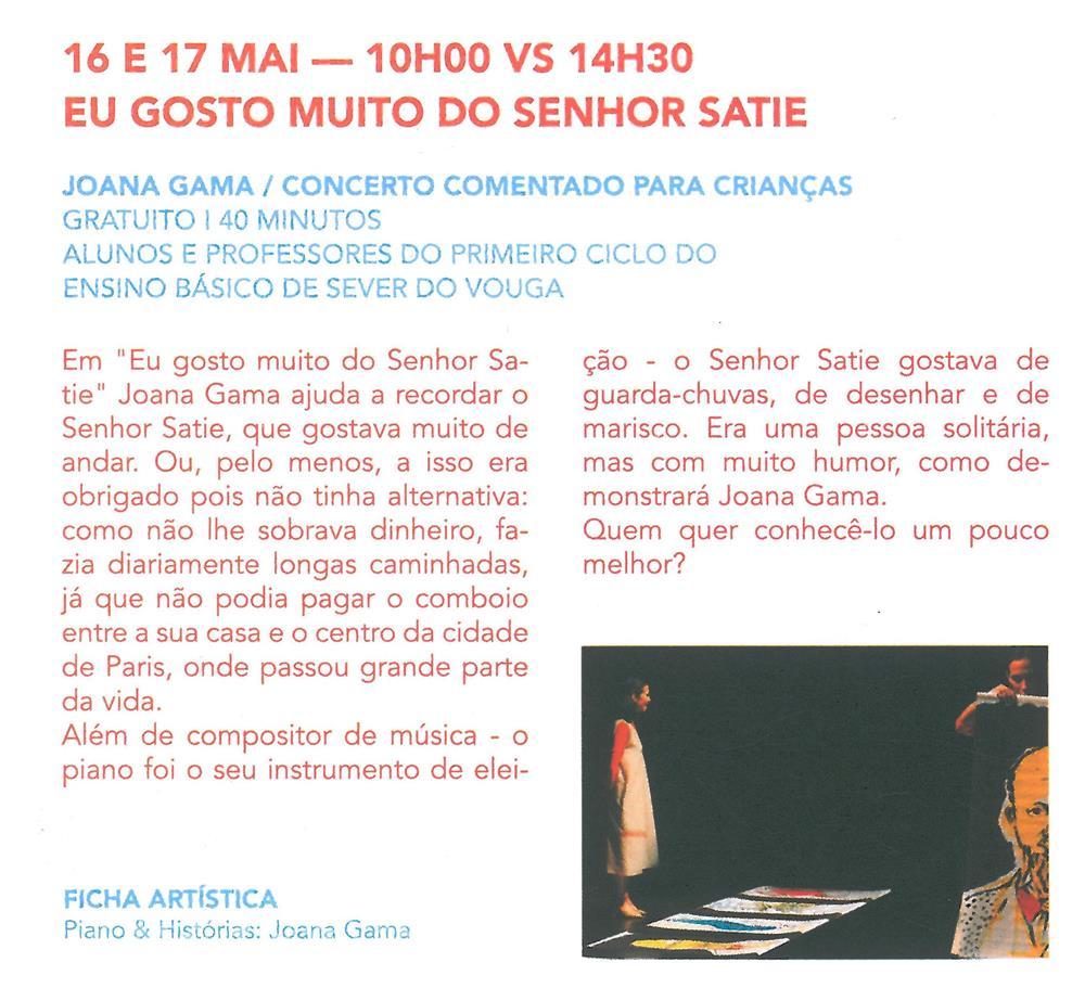 AgCultCAE-01abr.'19-p.16-Eu gosto muito do Senhor Satie : Joana Gama : concerto comentado para crianças.jpg
