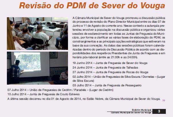 BoletimMunicipal-nº 31-nov'14-p.3-Câmara Municipal [1.ª de duas partes] : Revisão do PDM de Sever do Vouga.JPG